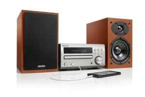 Denon D-M40 Stereoanlage neu aufgelegt.