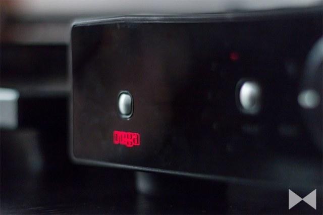 Rega-Brio-R Stereo-Verstärker Vorderansicht