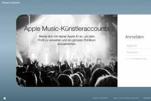 Apple-Music als Künstler anmelden