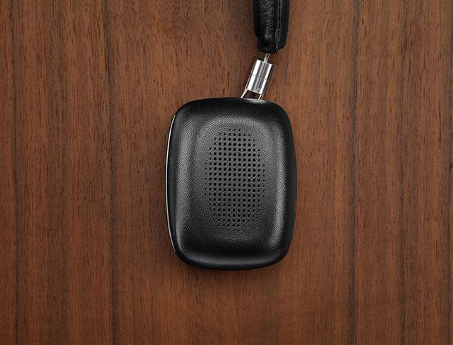Bowers-&-Wilkins-P5-Wireless Funk-Kopfhörer mit neuseeländischem Schafsleder