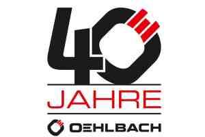 40-Jahre-Oehlbach Logo