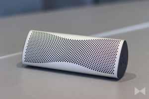 Kef-Muo Bluetooth Lautsprecher als Kompaktversion des Kef Muon