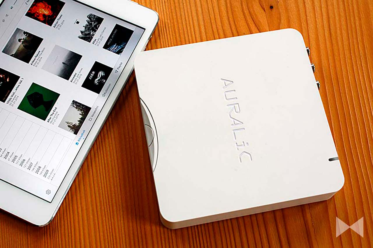 Auralic-Aries-Mini-Test Streaming-Player mit Lightning DS