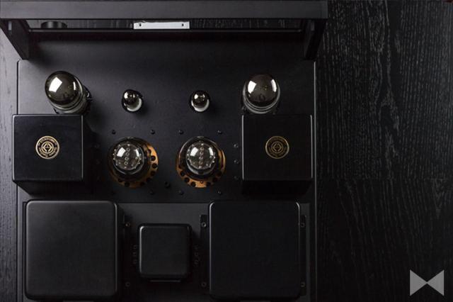 Fostex-HP-V8-Test Röhren-Kopfhörerverstärker von oben