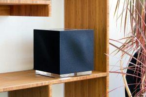 Naim-Mu-so-Qb Wireless-Lautsprecher mit Streaming-Funktion und Multiroom-System-Möglichkeit