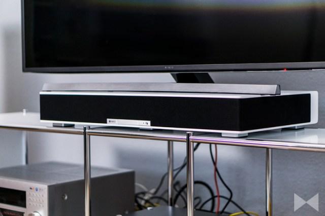 Raumfeld-Sounddeck Hörtest
