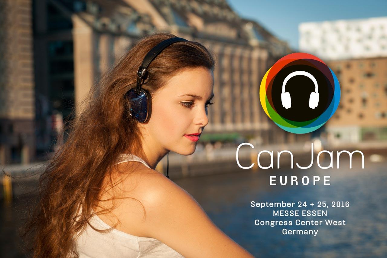 CanJam 2016 Europe Europas größte Kopfhörermesse