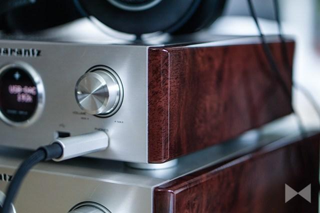 Marantz-HD-DAC1 Kopfhörerverstärker und D/A-Wandler im Retro-Stil