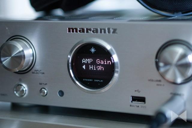 High-Gain-Setting am Marantz HD-DAC1