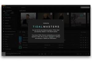 Tidal Masters MQA