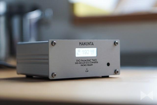 Manunta EVO PhonoDAC Two Test