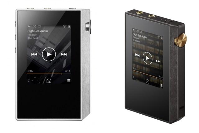Pioneer XDP-30R Frontal-Ansicht auf den Digital Audio Player