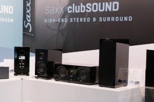 Saxx clubSOUND: hochwertige Bändchen-Lautsprecher auf der IFA 2017