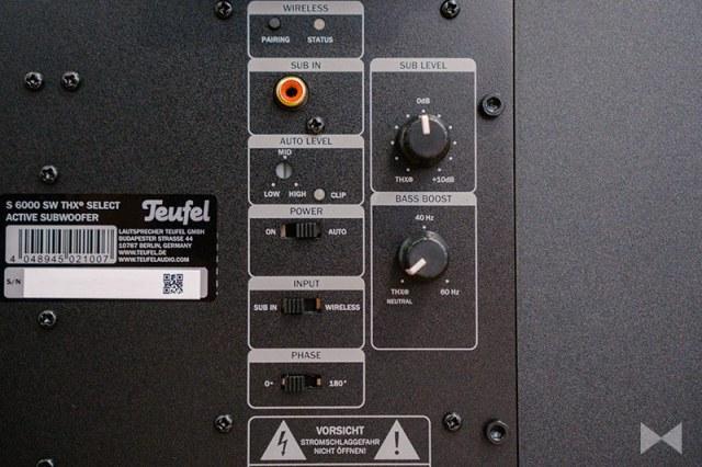 Teufel System 6 THX S 6000 SW