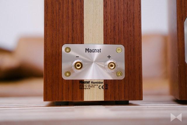 Magnat Humidor Single-Wiring-Terminal