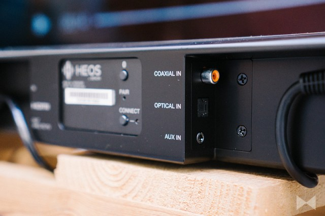 Heos HomeCinema HS2 Koaxial Toslink Analog