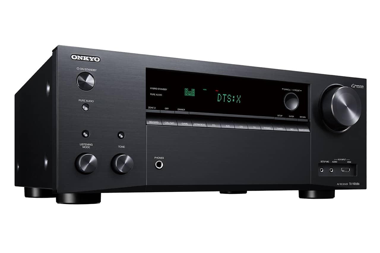 Onkyo TX-NR686: 7.2-AVR mit THX und Google Assistant