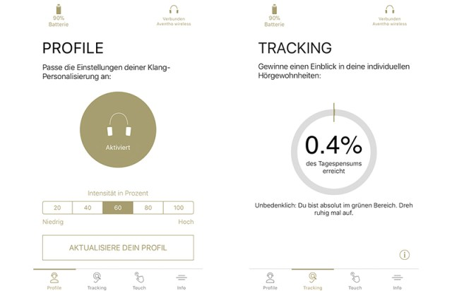 Beyerdynamic Aventho wireless und die MIY-App