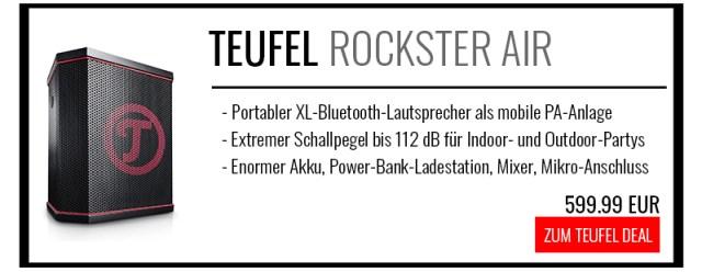 Teufel Rockster Air kaufen Bluetooth-PA-Anlage