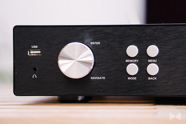 auna iTuner 320 HiFi-Tuner mit Internetradio