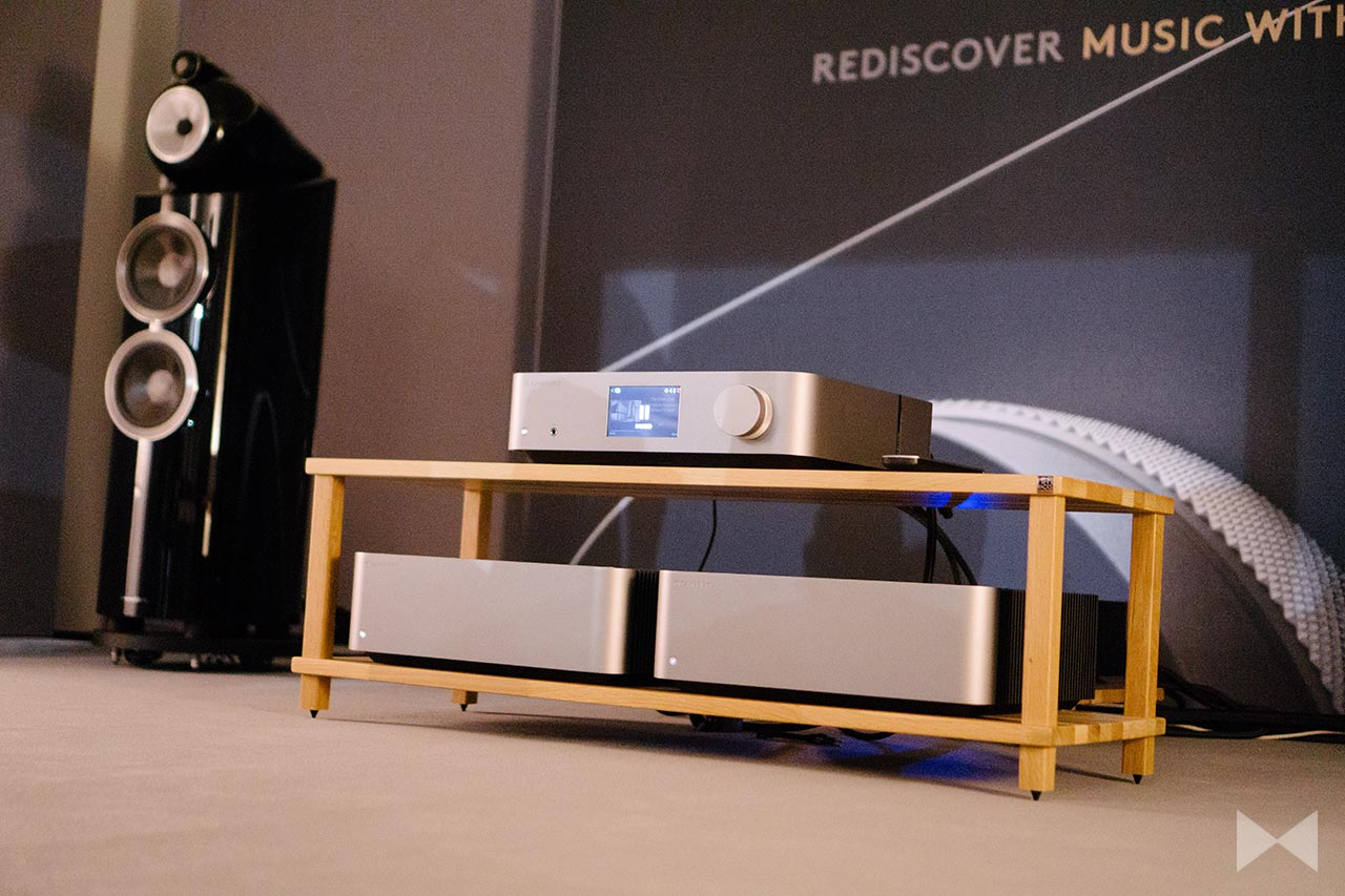 High End 2018: Cambridge Audio Edge A, W, NQ – Amp und Player