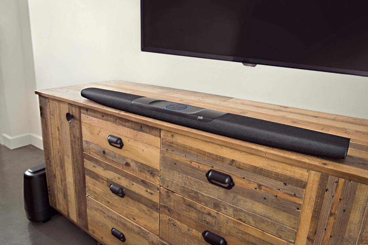 Polk Command Bar: TV-Soundbar integriert Amazon Alexa