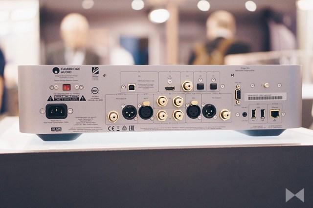 Cambridge Audio Edge NQ HiFi-Streamer Anschlüsse