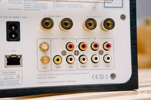 Numan Unison Reference 802 Edition mit Internetradio DAB und FM