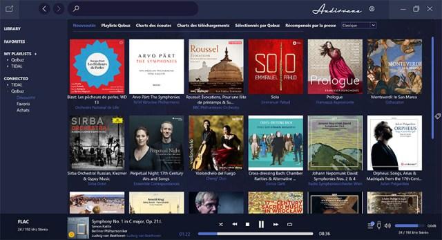 Audirvana Plus für Windows 10 Audioplayer