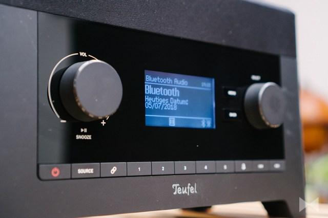Teufel 3Sixty als Bluetooth-Lautsprecher