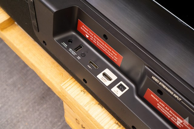 Polk Command Bar HDMI-Anschlüsse für Amazon Fire TV Stick