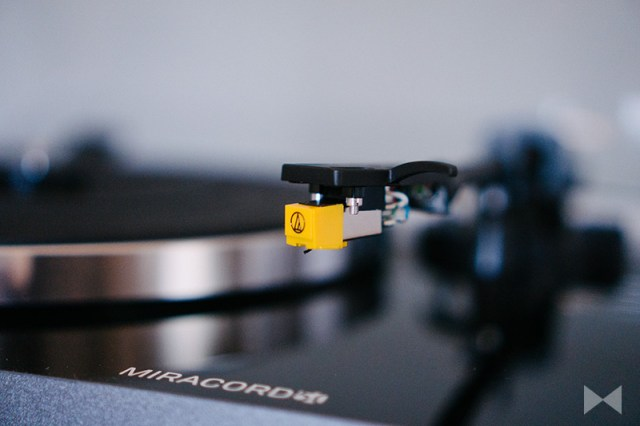 Elac Miracord 50 Audio-Technica AT91 Moving Magnet Tonabnehmer