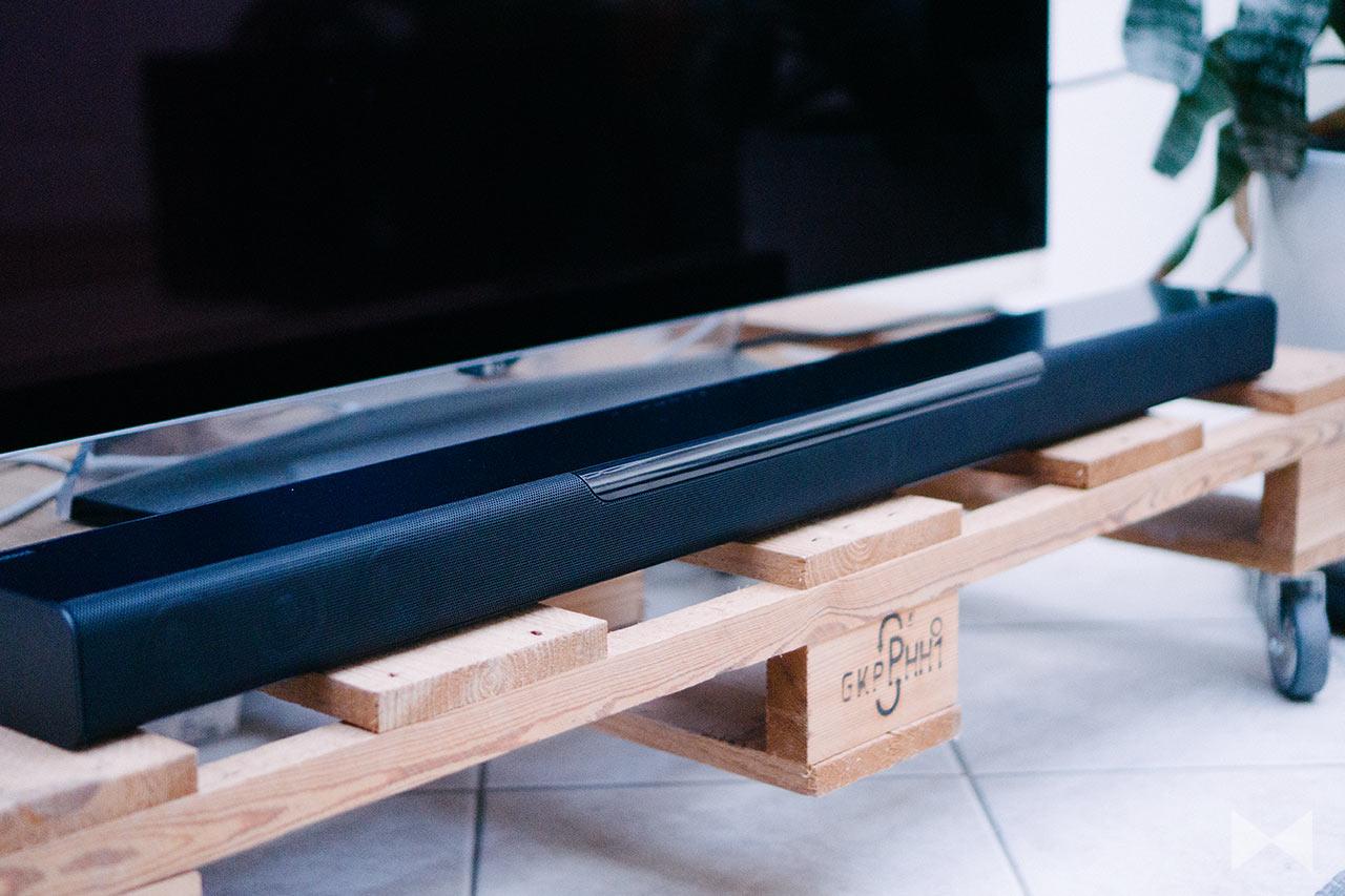 yamaha musiccast bar 400 test wlan soundbar mit 3d surround. Black Bedroom Furniture Sets. Home Design Ideas