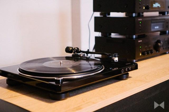 Denon DP-450USB-Plattenspieler