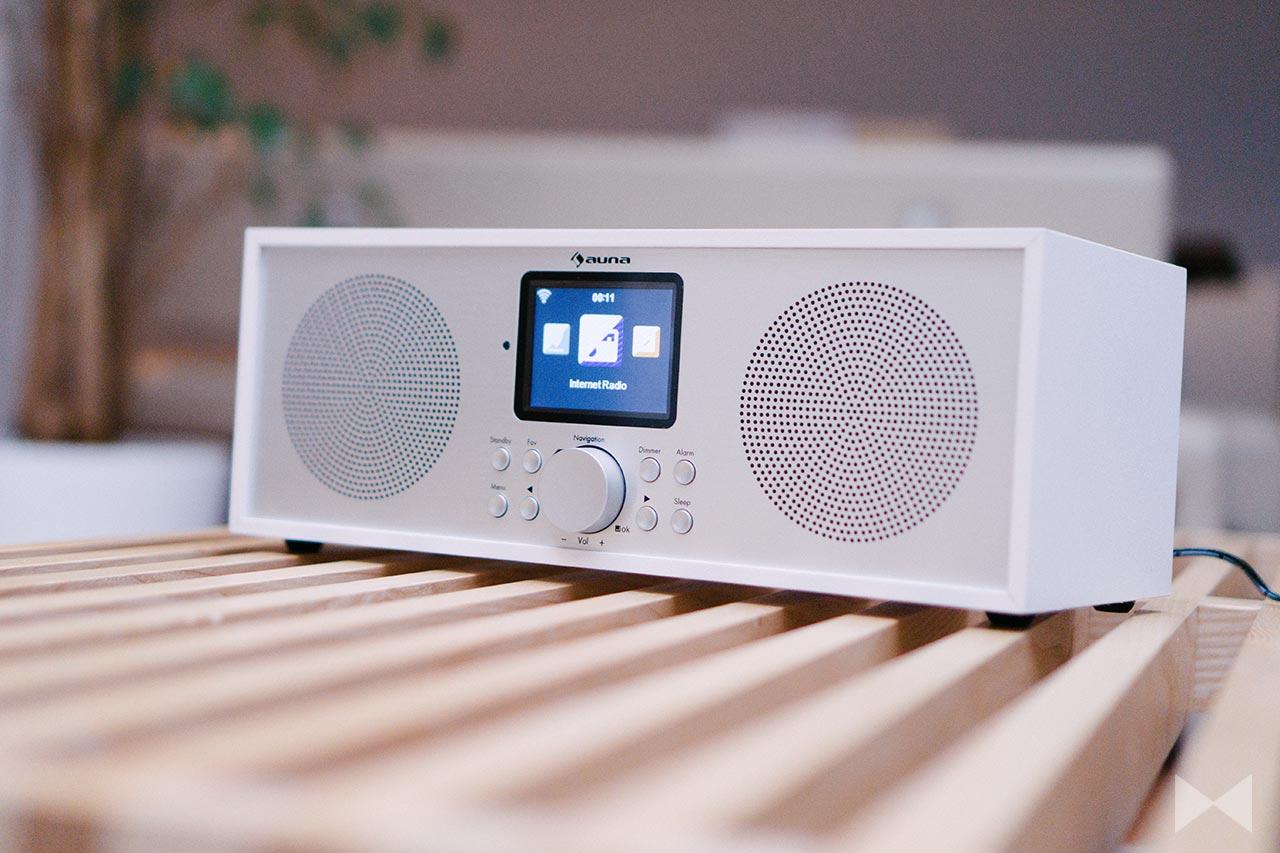 Auna Silver Star Stereo Test: Analog-, Digital- und Internetradio