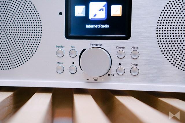 Auna Silver Star Stereo Digitalradio