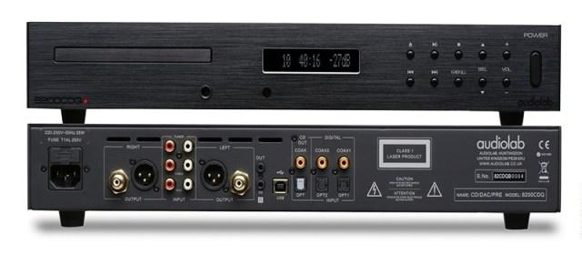 Audiolab 8300CDQ CD-Player DAC PreAmp MQA DSD