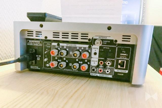 Marantz M-CR612 HiFi-Stereo-Netzwerk-Receiver