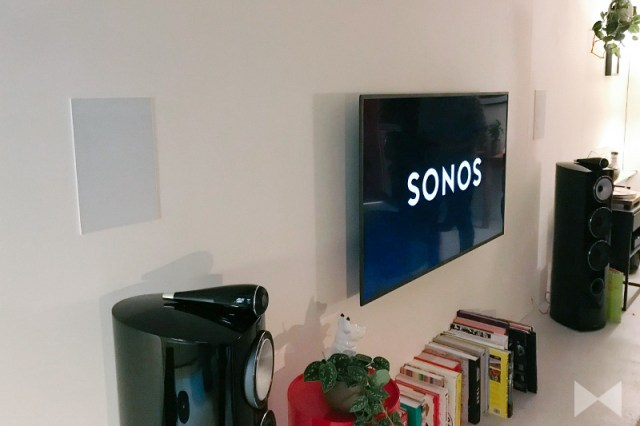 Sonos In-Wall-Lautsprecher by Sonance