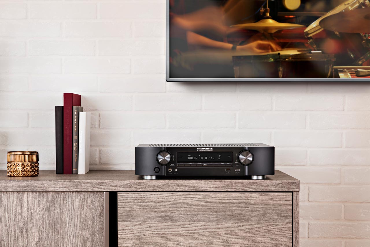 Marantz NR1710 / NR1510: Slim-Line-AV-Receiver mit 4K, Dolby Atmos und Heos