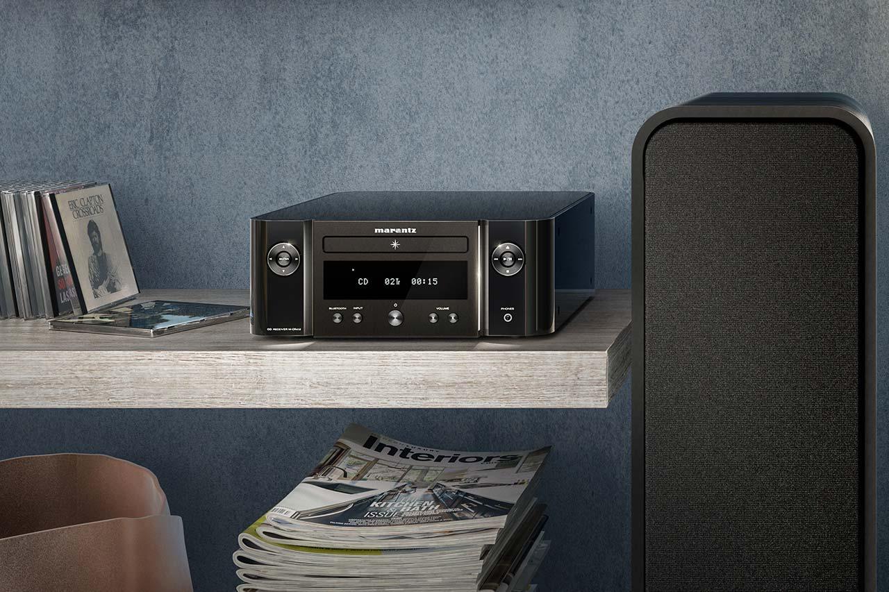 Marantz M-CR412: HiFi-CD-Receiver mit DAB+ und Bluetooth