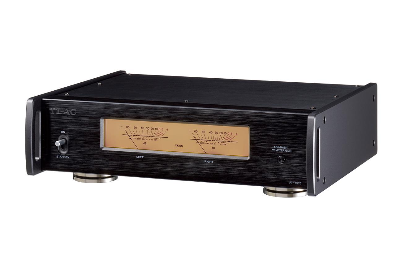 Teac AP-505: Stereo-Endstufe mit Bi-Amping und BTL-Modus