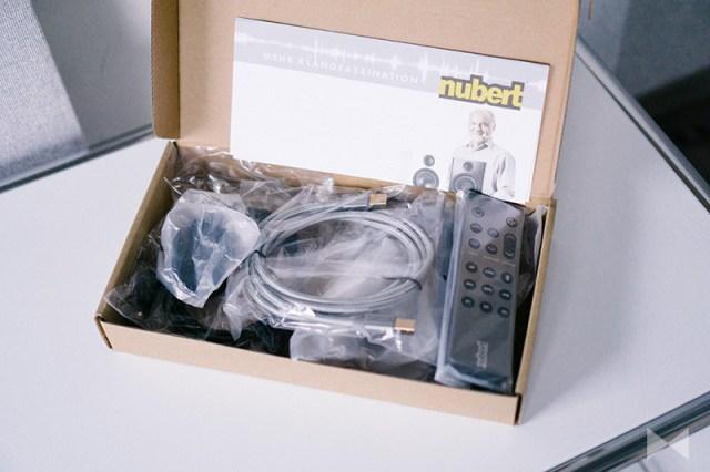 Nubert nuPro X-6000 Zubehör und Kabel