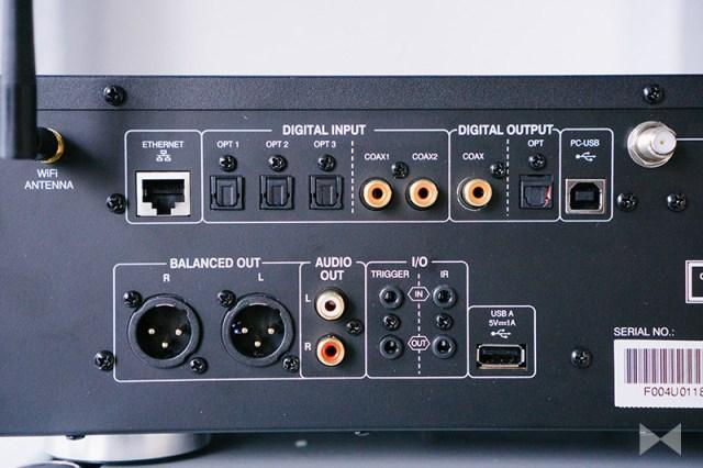 Advance Paris X-Stream 9 TOSLINK Koaxial USB XLR Cinch