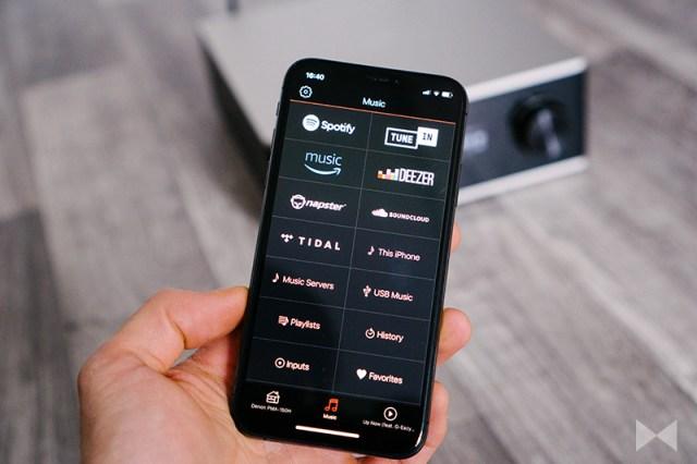 Denon PMA-150H mit HEOS-App