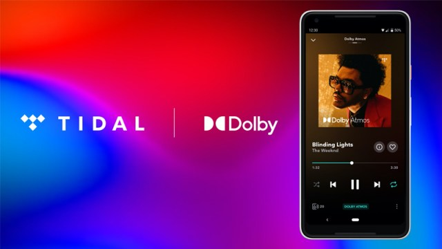 Dolby Atmos Music plays The Weeknd on Tidal