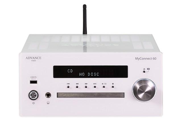 Advance Paris MyConnect 60 Stereo-Vollverstärker mit Streaming Radio-Tuner und CD-Player