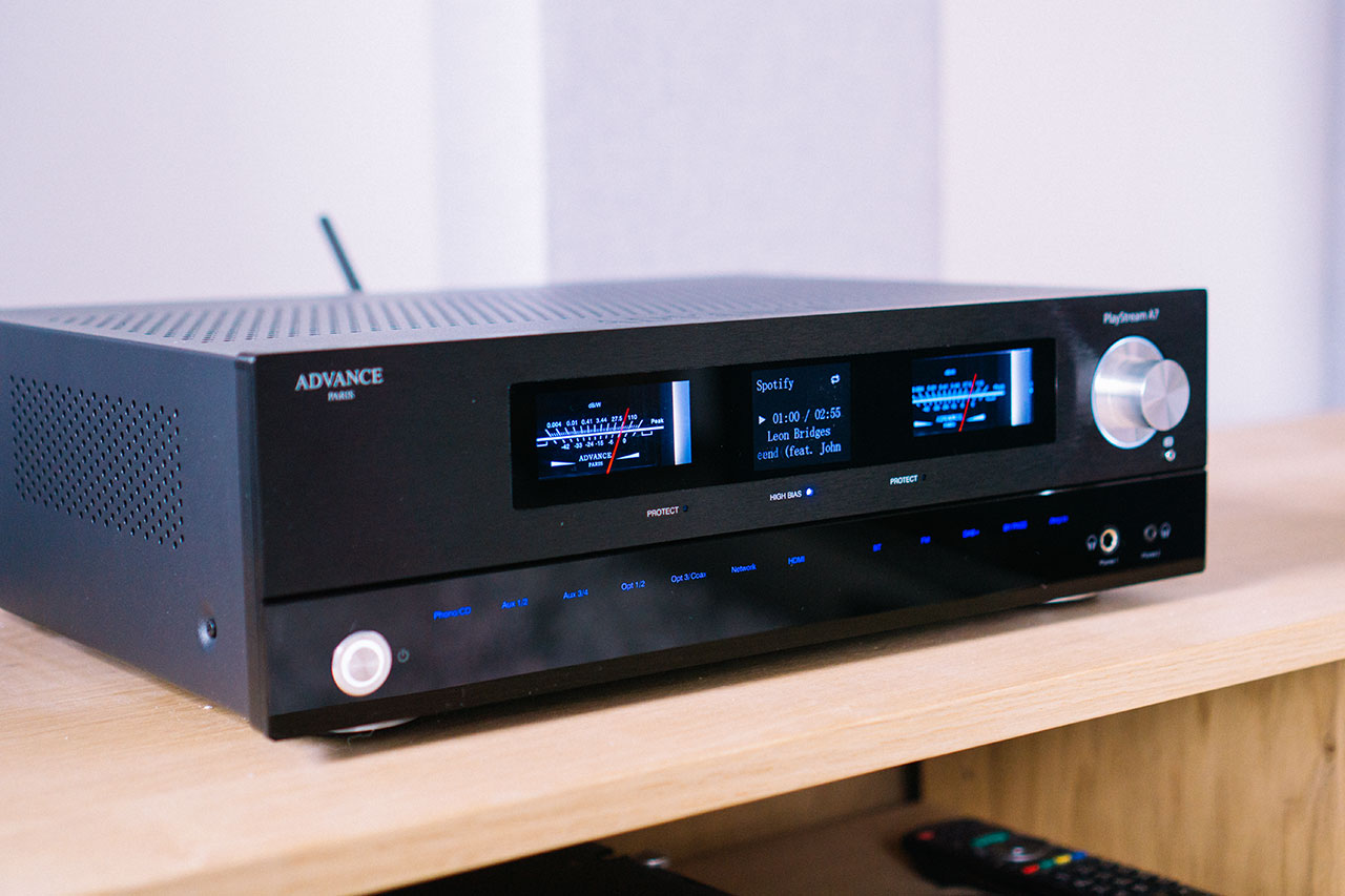 Advance Paris Playstream A7 Test: Stereo-Receiver mit Streaming und HDMI