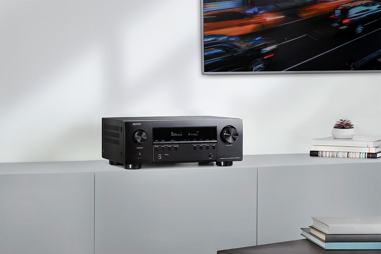 Denon AVR-S960H: AV-Receiver mit 8K-Bild und 3D-Audio