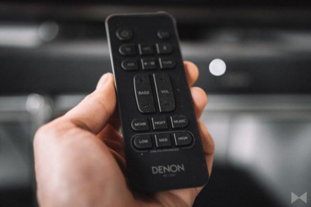 Denon DHT-S416 Fernbedienung zur Steuerung der Soundbar